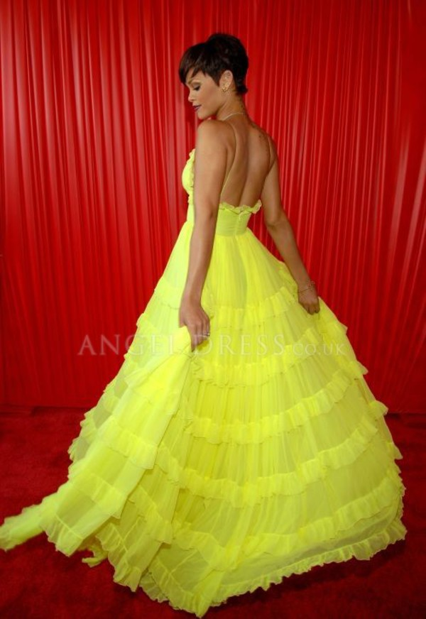 celebrity style red carpet dress prom dress chiffon chiffon dress
