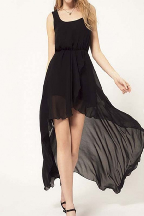 dress beautiful halo black dress black sheer maxi dress fashion trendy style