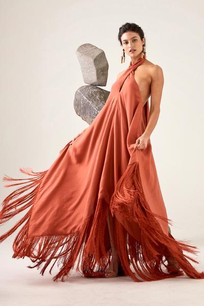 Ali Dress - Terracotta
