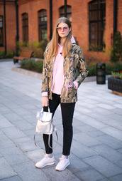 white rabbit dreams,blogger,jacket,sweater,jeans,sunglasses,socks