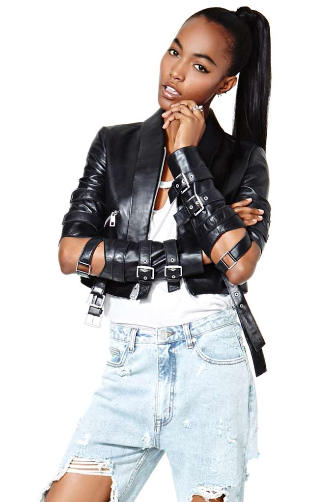 Nasty gal collection vicious love leather jacket