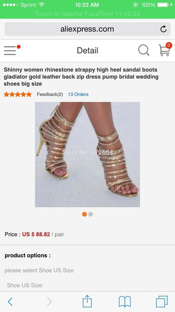 shoes gold heels strappy heels