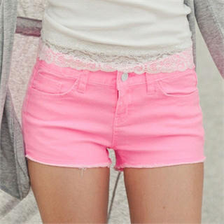Colored Shorts - GUMZZI | YESSTYLE