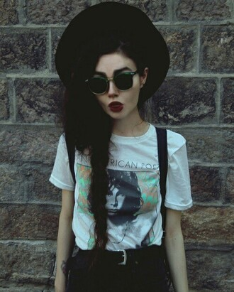 top hipster indie t-shirt