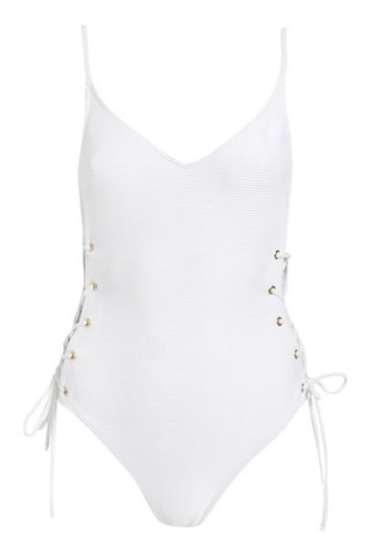 Topshop white swimwear