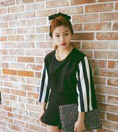 skirt,asian,black,korean fashion,havepp