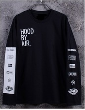 sweater,black,tumblr,hood by air