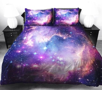 jewels bedding bedroom sheet galaxy print underwear jeans galaxy duvet cover galaxy bedding home accessory home decor gift ideas gift ideas for boyfriend gift ideas for him outer space tumblr bedroom
