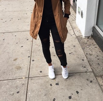 coat jacket cute trendy new fall outfits beige brown light brown fashion fashionista style long coat long