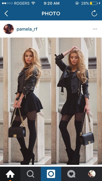 skirt black skirt skater skirt