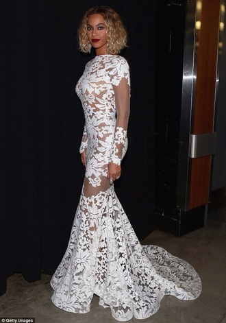 dress beyoncé white dress