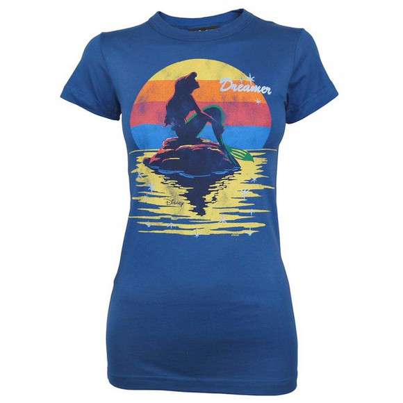 ariel the little mermaid ariel t-shirt disney mermaid the little mermaid