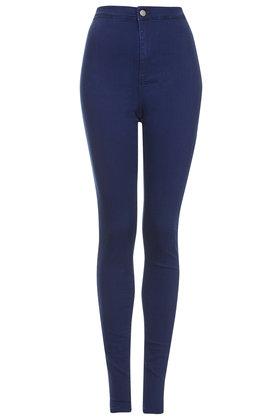 TALL MOTO Intense Blue Joni Jeans - Topshop