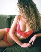 underwear,red underwear