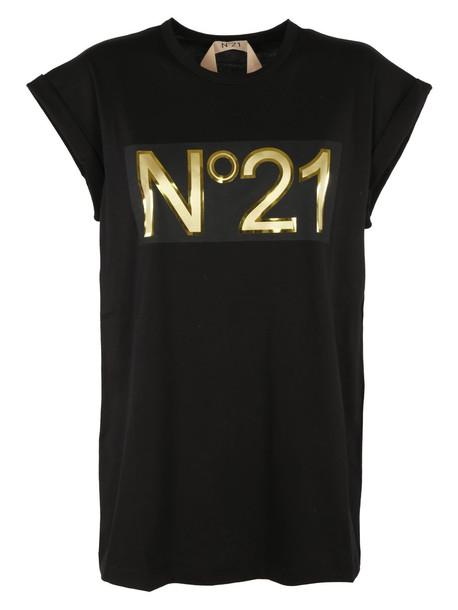 N.21 t-shirt shirt t-shirt black top