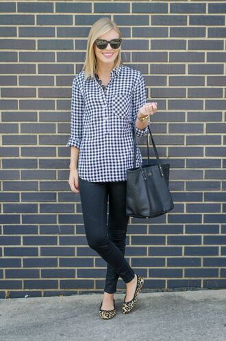 life with emily blogger top sunglasses bag jewels