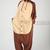 Polyester Mesh Brown Bear Adult Onesie Kigurumi Pajamas