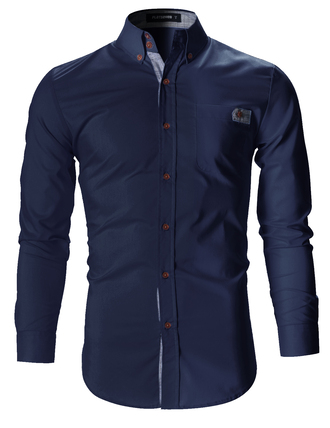 shirt blue shirt mens shirt menswear urban menswear fashion