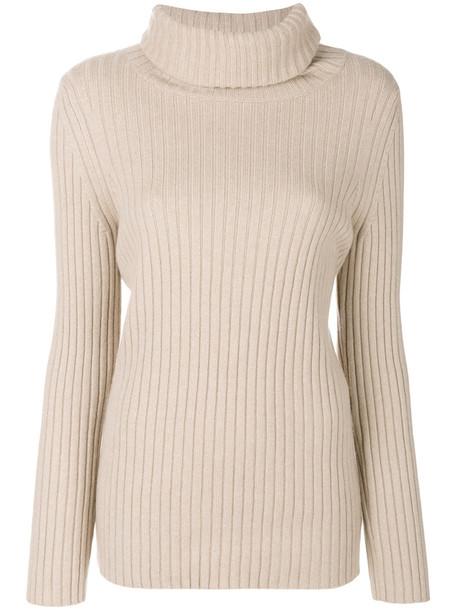 jumper women nude silk wool sweater