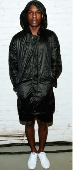 raincoat ASAP Rocky t-shirt