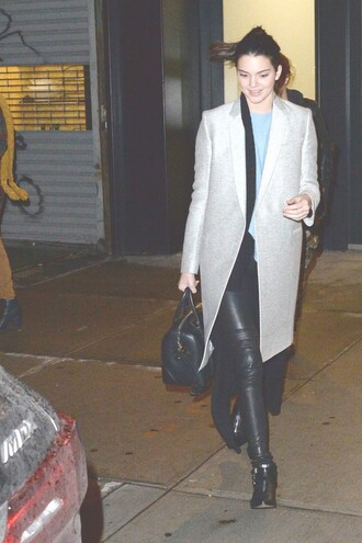 coat kendall jenner fall outfits