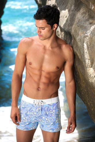 swimwear mens mens swimwear blue swim trunks bikiniluxe