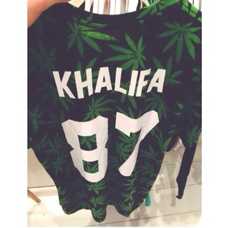 shirt wiz khalifa weed bud khalifa 87