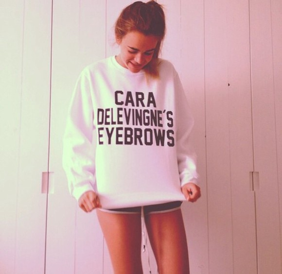cara delevingne sweater sweat the style winter sweater winter outfits