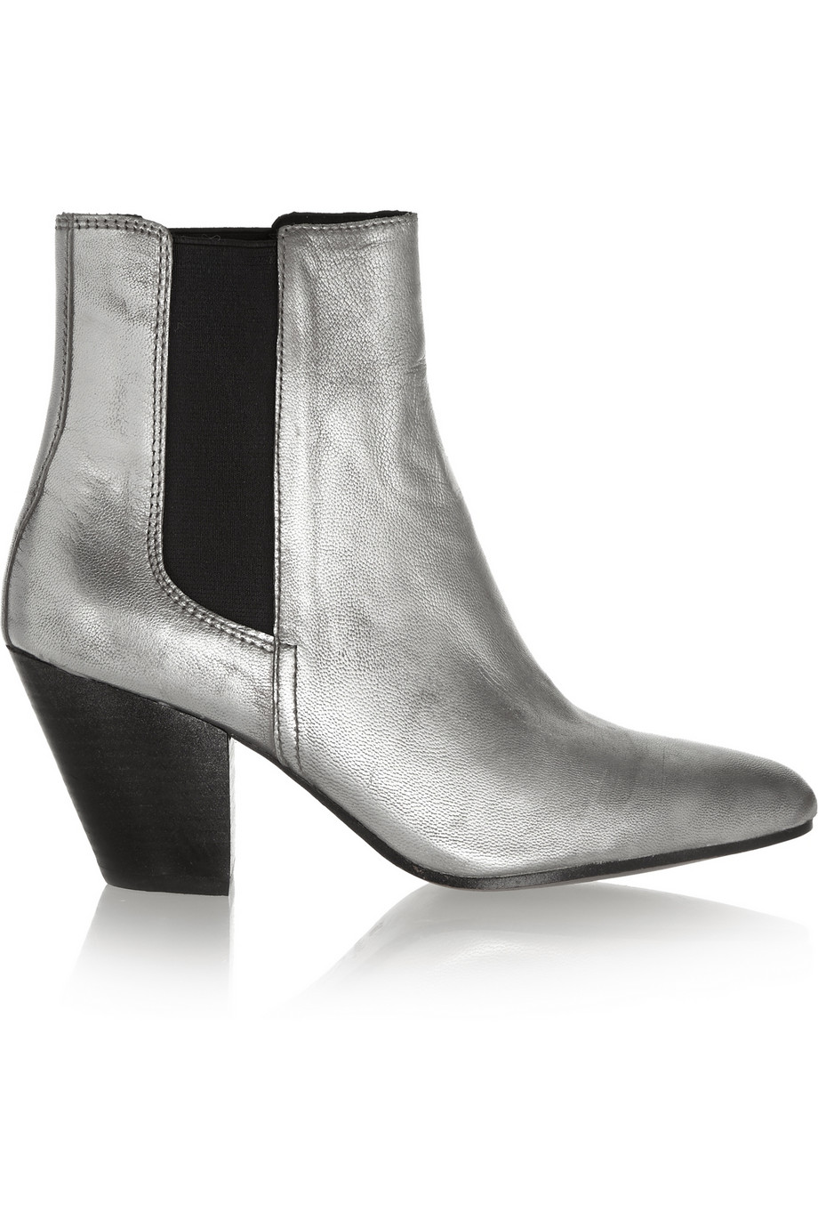 Ash obsession metallic leather ankle boots – 55% at the outnet.com