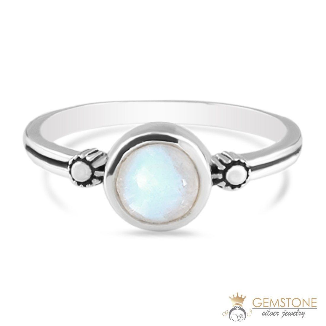 Moonstone Ring-Freya Moon