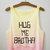 Hug Me Brotha Tie Dye Crop Top | fresh-tops.com on Wanelo