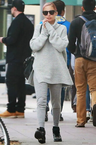 sweater oversized nicole richie