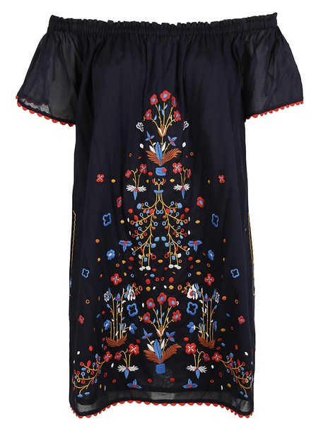 Tory Burch dress embroidered dress embroidered
