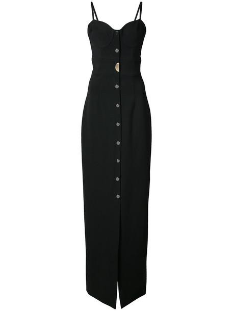 cushnie et ochs dress sweetheart dress long women spandex black