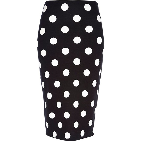Pair your fave pumps with the Lulus Dot to Trot Black and White Polka Dot Midi Skirt and strut your stuff! You'll look perfectly pretty in this playful polka dot skirt, with a high, banded waist and midi length/5(3).