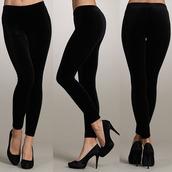 pants,leggings,black,velvet
