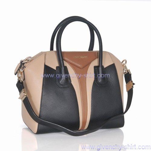 2013 Givenchy Antigona Tote Bag Black Beige Online | 2013 Givenchy - $410.00