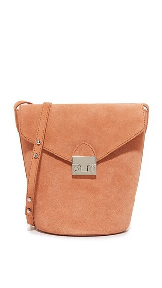 bag bucket bag nude
