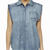 SURFSTITCH - WOMENS - SHIRTS   POLOS - SHORT SLEEVE SHIRTS - RIP CURL DOROTHY SS SHIRT - CHAMBRAY
