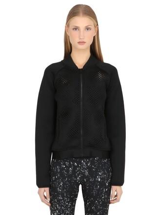 jacket bomber jacket mesh black