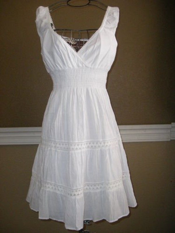 dress little white dress