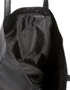 Monki | Monki Alma No Rules Canvas Shopper Bag at ASOS