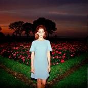 dress,lana del rey,blue dress,mini dress