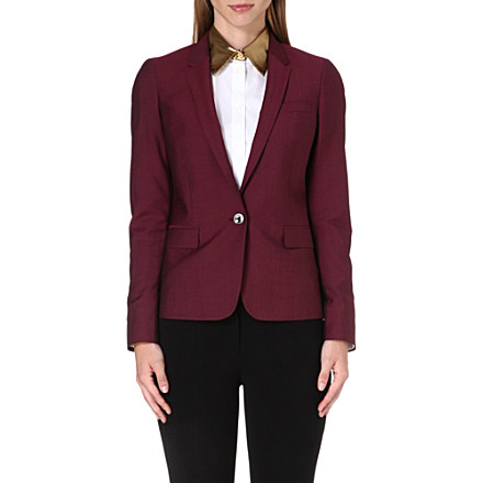 PAUL SMITH BLACK - Wool-blend blazer | Selfridges.com