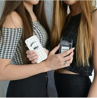 phone cover graphic tee black and white tumblr aesthetic cute pale grunge iphone cover tank top bff
