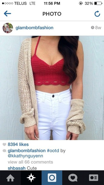 shirt red shirt cute fashion summer outfits need this top
