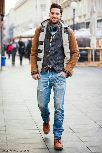 jacket coat mens coat menswear mens duffle coat