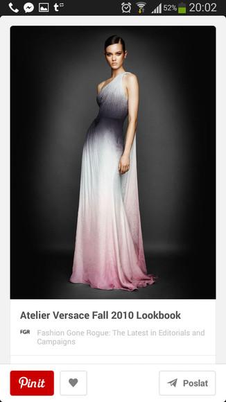 gown prom versace fall 2010 gwyneth paltrow