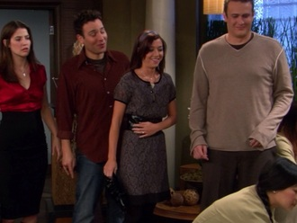 dress grey dress how i met your mother alyson hannigan