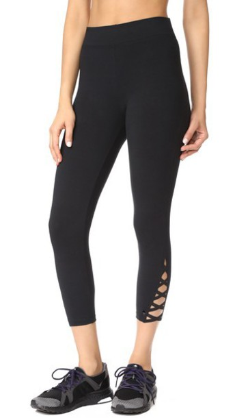 d4c8bc429d549 Yummie by Heather Thomson Skimmer Leggings in black - Wheretoget